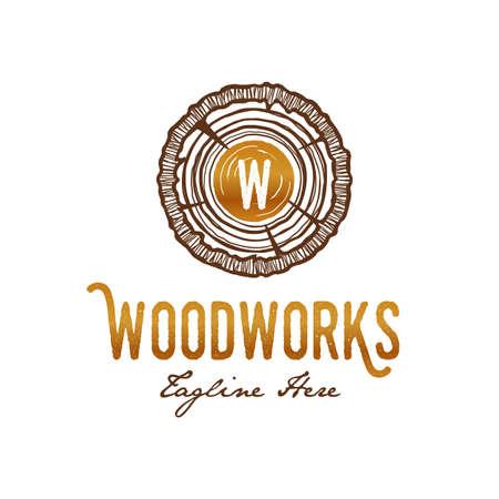 Woodworks Carpenter Logo