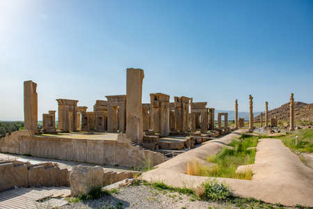 Shiraz - Iran. April 24, 2017. Welcome to Persepolis Reklamní fotografie
