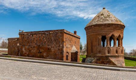 Ahlat, Bitlis - Turkey. Emir Bayindir Cupola (Kumbet) in Ahlat.