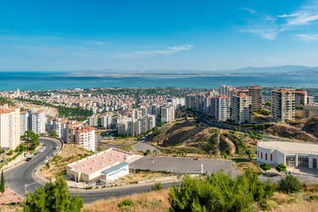 Narlidere, Izmir - Turkey. A Narlidere City View from Hill.