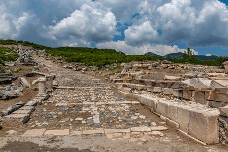 Golhisar, Burdur - Turkey. The City of gladiators: Kibyra Ancient City. Stock Photo