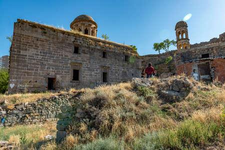 Panagia Church (Kimisis tis Teotoku) in Germir, Kayseri - Turkey.