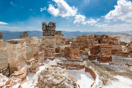 Gymnasium. Welcome to Sagalassos. Isparta, Turkey.To visit the sprawling ruins of Sagalassos, high amid the jagged peaks of Akdag, is to approach myth: the ancient ruined city set in stark