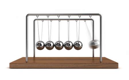 Collision balls Stock fotó