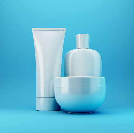 Cosmetic products, with no brand, you can write your own brand on it.