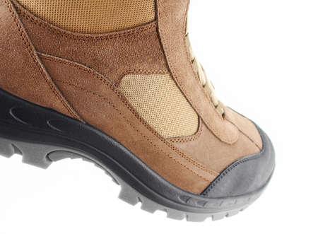 Detail view of a hiker shoe Stock fotó