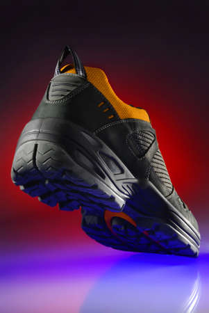 Colorful photo of an adventure shoe