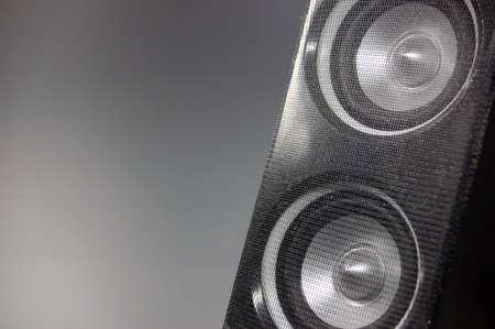 Black Hi-Fi Loudspeaker