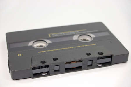 old fashioned retro cassette tape 版權商用圖片