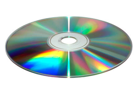 CD on white background Stock Photo
