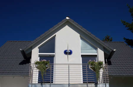 dormer of a roof with balcony Stock Photo - 1425447
