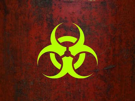 riesgo biologico: Biohazard Foto de archivo