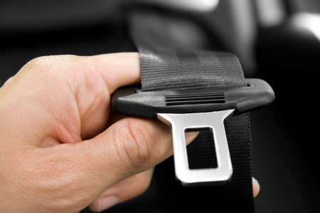 safety belt: Safety Belt Stock Photo