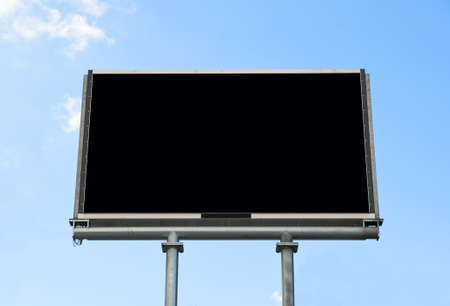 electronic Billboard Display with copy space Stock Photo - 9547389