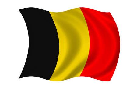 Belgium Flag 版權商用圖片