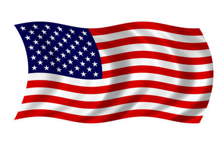 USA Flag 版權商用圖片 - 9596340