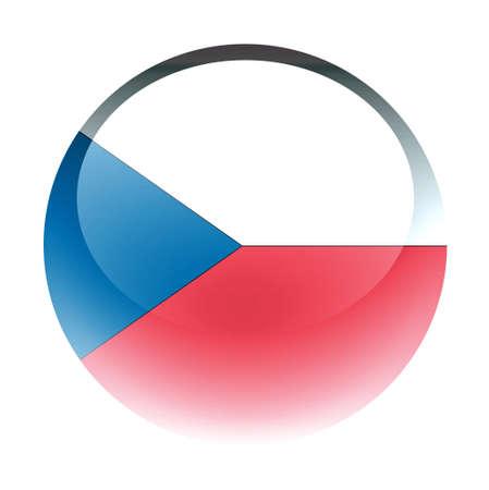 aquabutton: Aqua Country Button Czech Republic