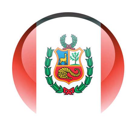 bandera peru: Aqua pa�s bot�n Per�