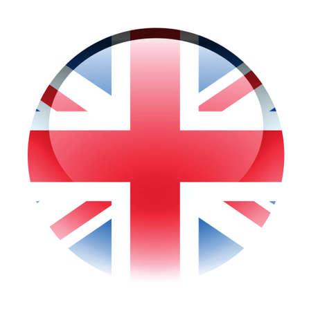 Aqua Country Button United Kingdom photo