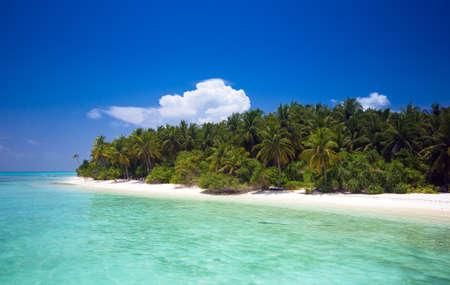 unspoilt: unspoilt tropical island Stock Photo