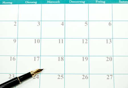 Kalender Standard-Bild - 36614676