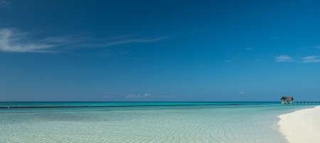 beach panorama: beautiful tropical beach panorama