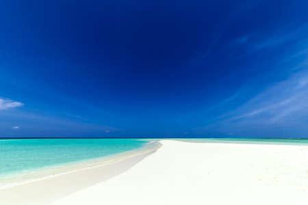 beach panorama: beautiful beach panorama
