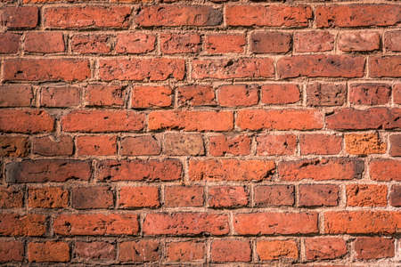 urbane: Old brick wall, grunge texture for background, urban style Stock Photo