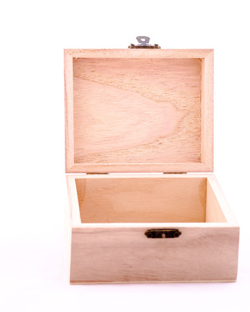 wooden partition: small wooden box focus on partition