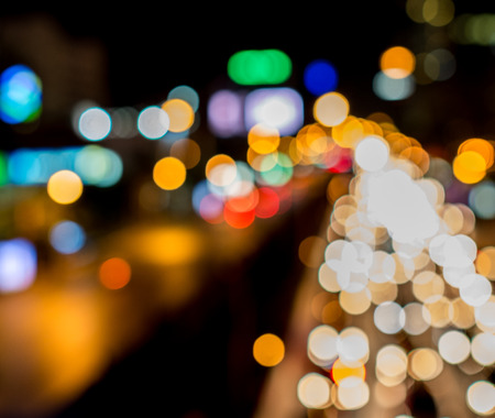 beautiful blur of color background on dark Banco de Imagens