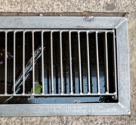 waterspout: Grate covering, Sewer Storm water sump