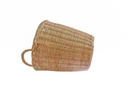 wicker: mimbre cesta de mimbre hecha a mano