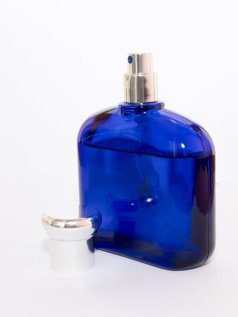 bewitch: perfume bottle isolate on white background