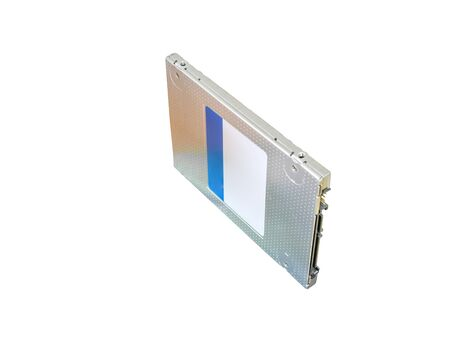 solid state drive: solid state drive (SSD) storage isolated on white background Stock Photo