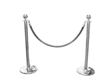barrier: Stand fence rope barrier