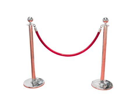 Stand fence rope barrier