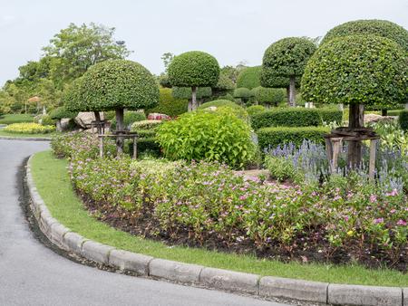 Schöner kleiner Park in der Stadt
