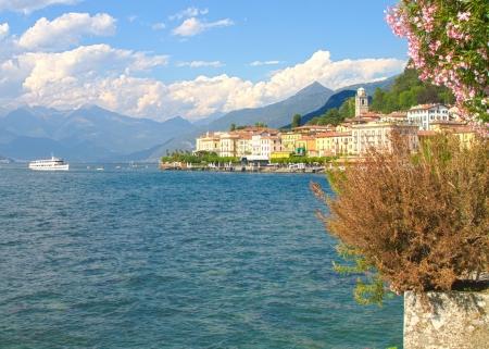 dinghies: lake, Bellagio Stock Photo