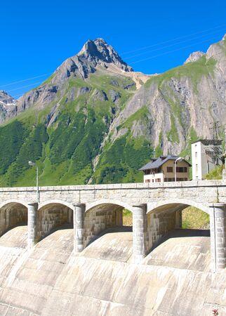 Morasco dam, Formazza valley photo