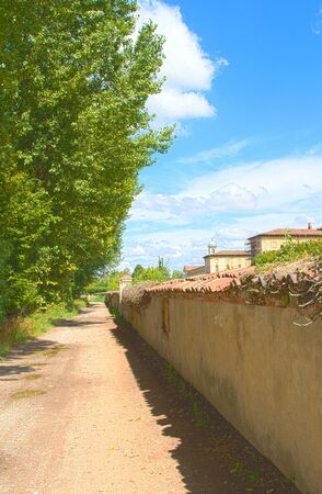 old street in a country photo