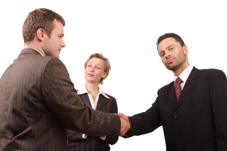 Group of busisness people - business hand shake  - promotion Stock Photo - 422446