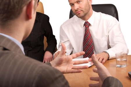 comit� d entreprise: personnes d�bat