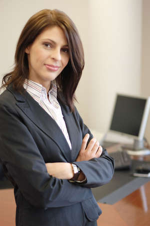 Confident Businesswoman Stock Photo - 3363113