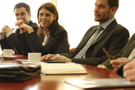 conference, group of business people Stock Photo