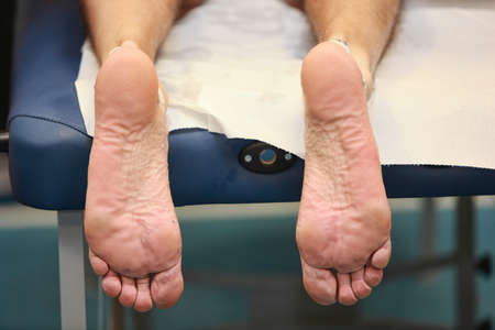 treat acupressure: runner feet after running
