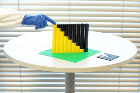 formula for recession - crisis Stock Photo