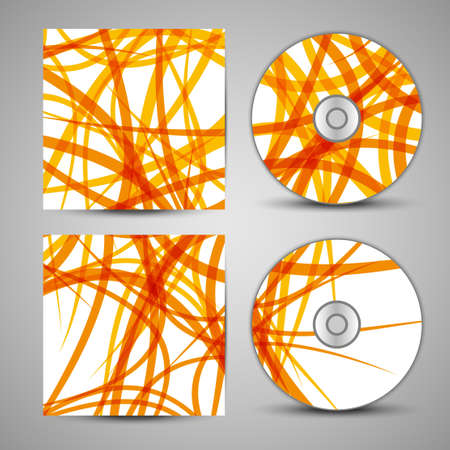 masculinity: Vector cd cover  set for your design, abstract Illustration.