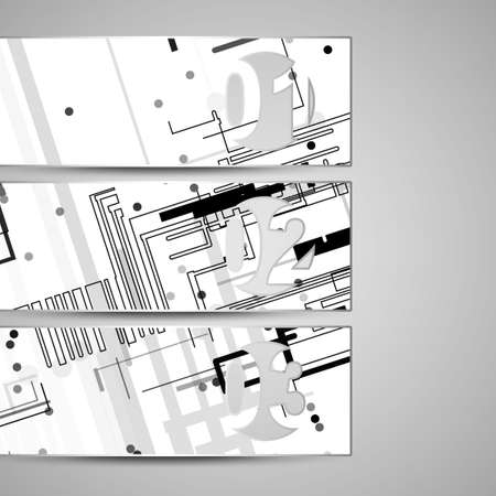 Vector web element for your design, circuit board Illustration. Vector