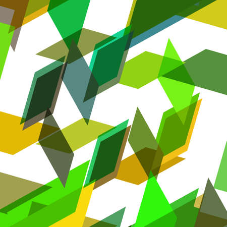 Abstract geometric shape, color background Vector