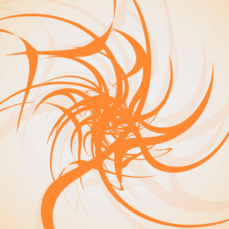 Tribal tattoo - abstract background, futuristic shapes illustration. Vector